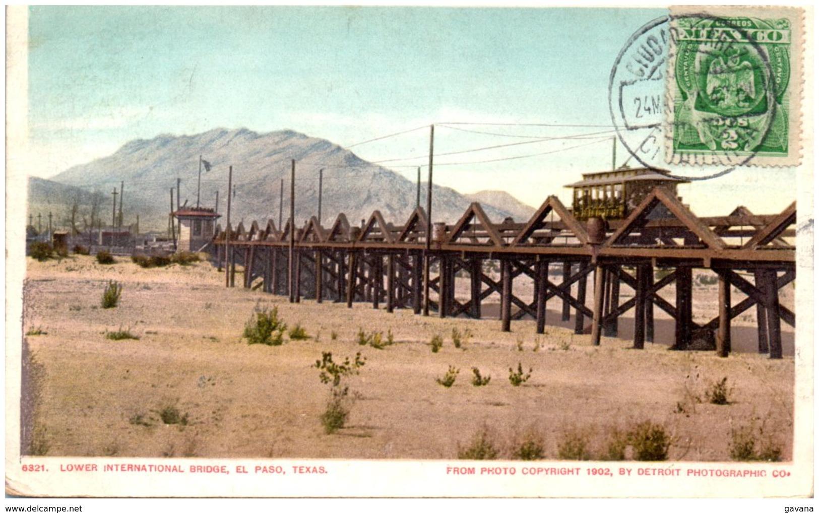 TX Lower International Bridge EL PASO - El Paso