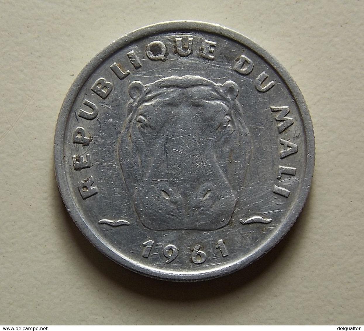 Mali 5 Francs 1961 - Monnaies