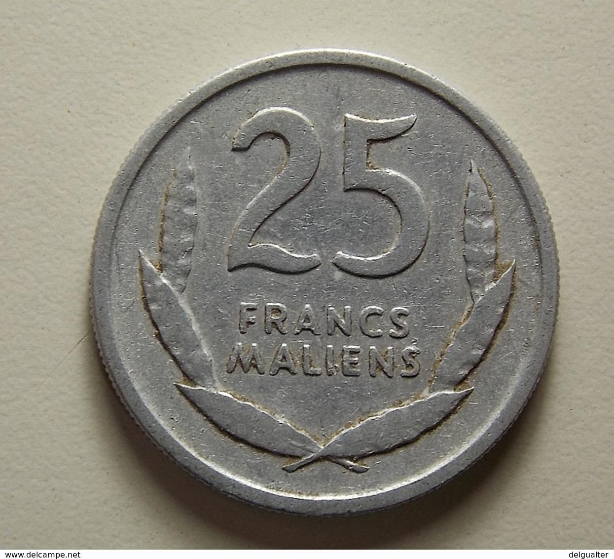Mali 25 Francs 1961 - Monnaies