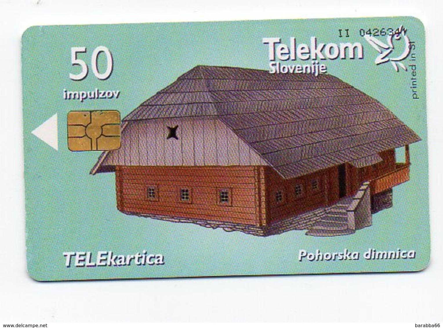 Telekom Slovenije 50 Imp. - BUILDINGS - Slowenien