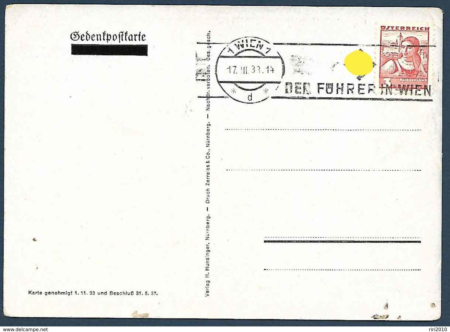 Carte De Propagande - Und Jhr Habt Doch Gesiegt -1933 - Militaria