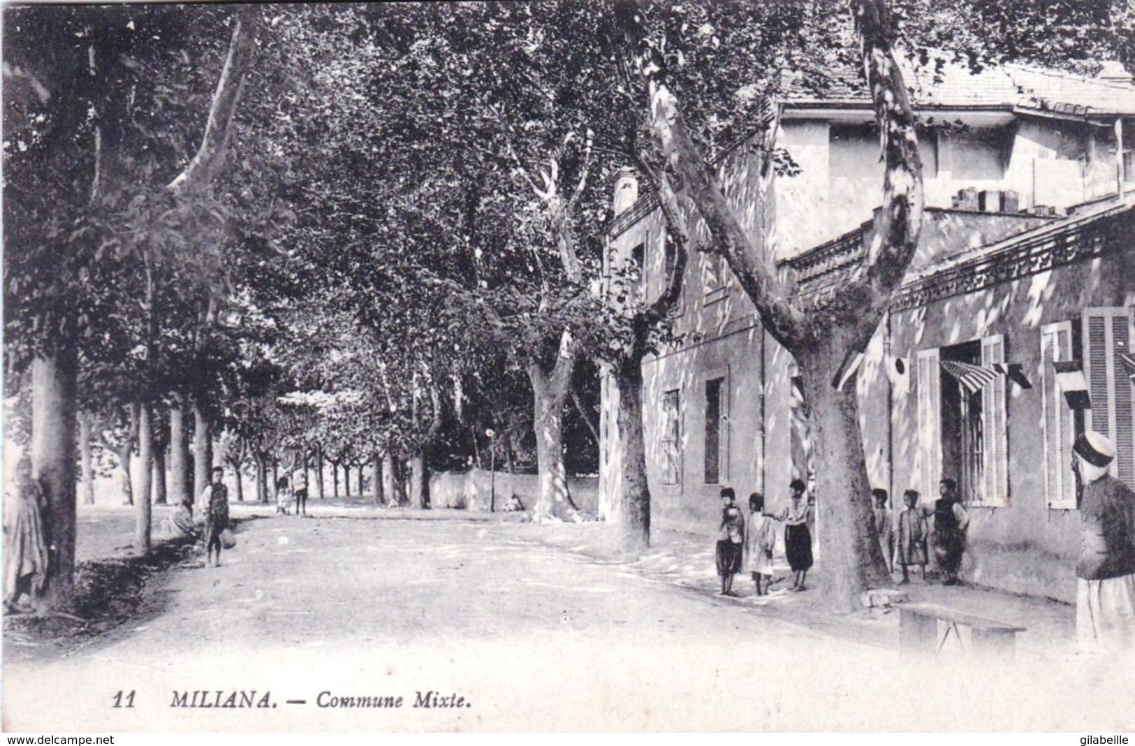 Algerie -  MILIANA -  Commune Mixte - Algérie