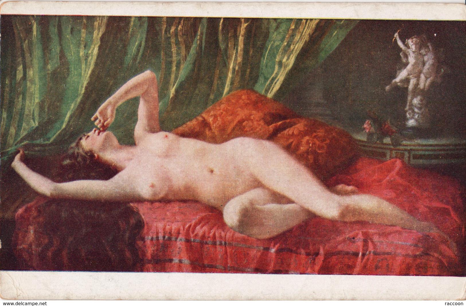 BRISARD: Ennivrement [ Nu Femme CPA AN. ] EP087 - Tableaux