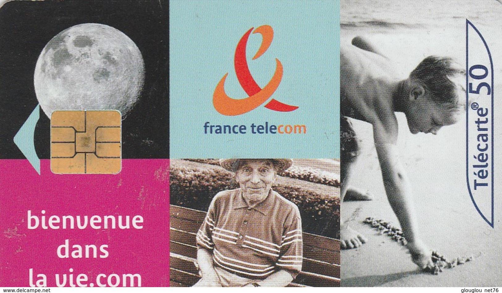TELECARTE 50....BIENVENUE DANS LA VIE.COM...... - France