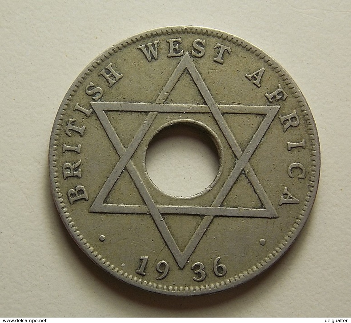 British West Africa 1/2 Penny 1936 KN - Monnaies