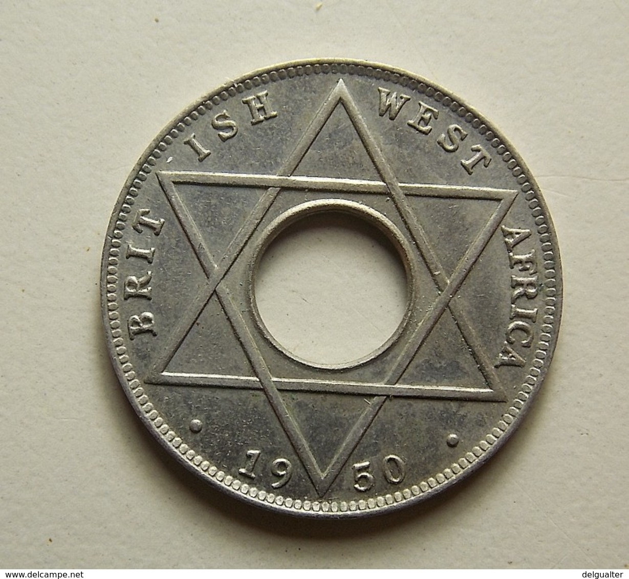 British West Africa 1/10 Penny 1950 KN - Monnaies