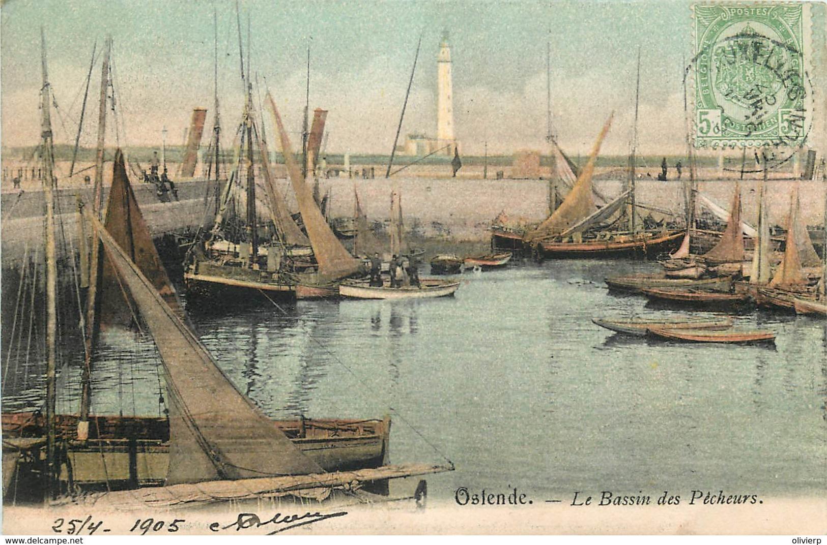 Ostende - Le Bassin Des Pêcheurs - Oostende