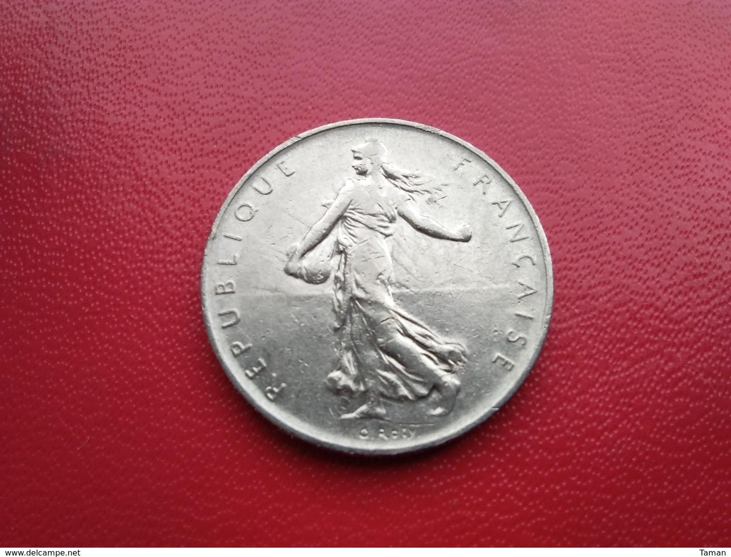 FRANCE   1  Franc   1967  -  Semeuse  - - H. 1 Franco