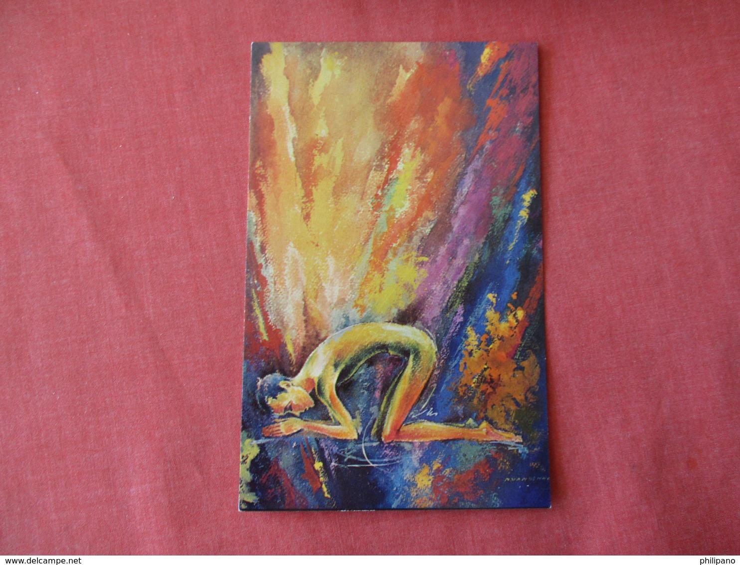 Art Work  ----God Is Light      Ref 3177 - Religions & Beliefs