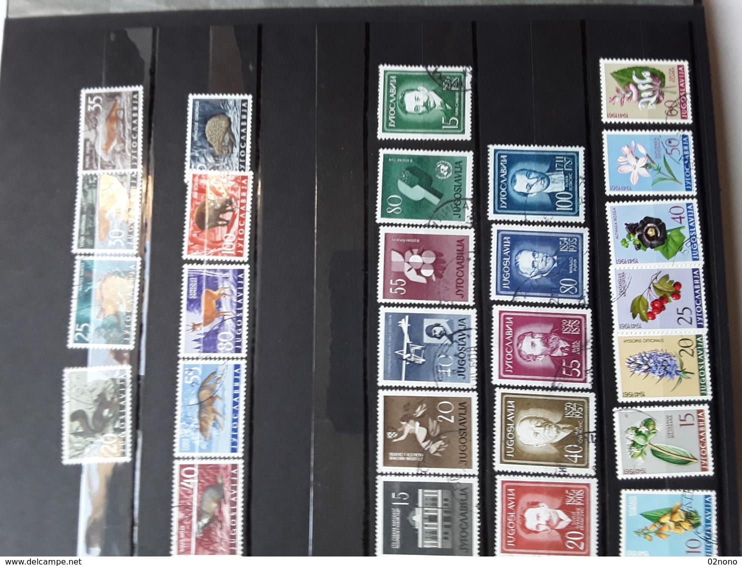 Yougoslavie, Irlande - Lots & Serien