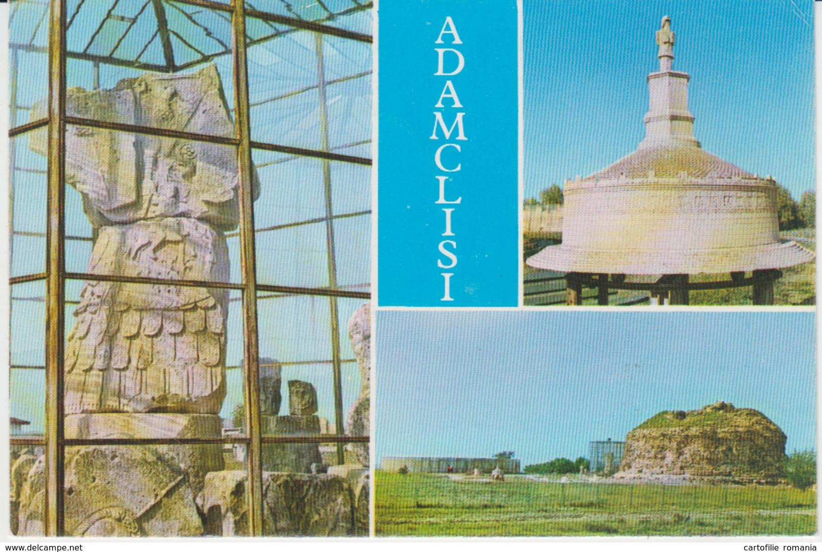 Constanta Romania Adamclisi Roman Ancient Monument Unused - Monuments