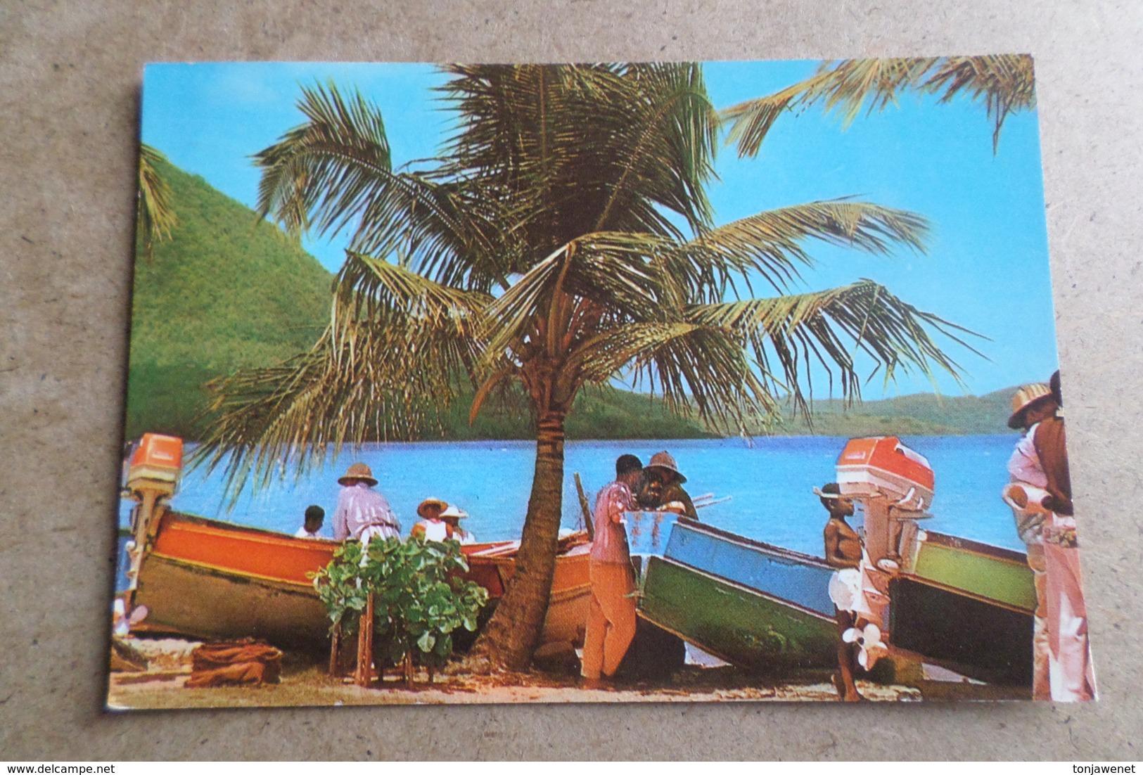 SAINTE-LUCE - Repos Des Pêcheurs Sur La Plage ( Martinique ) - Martinique