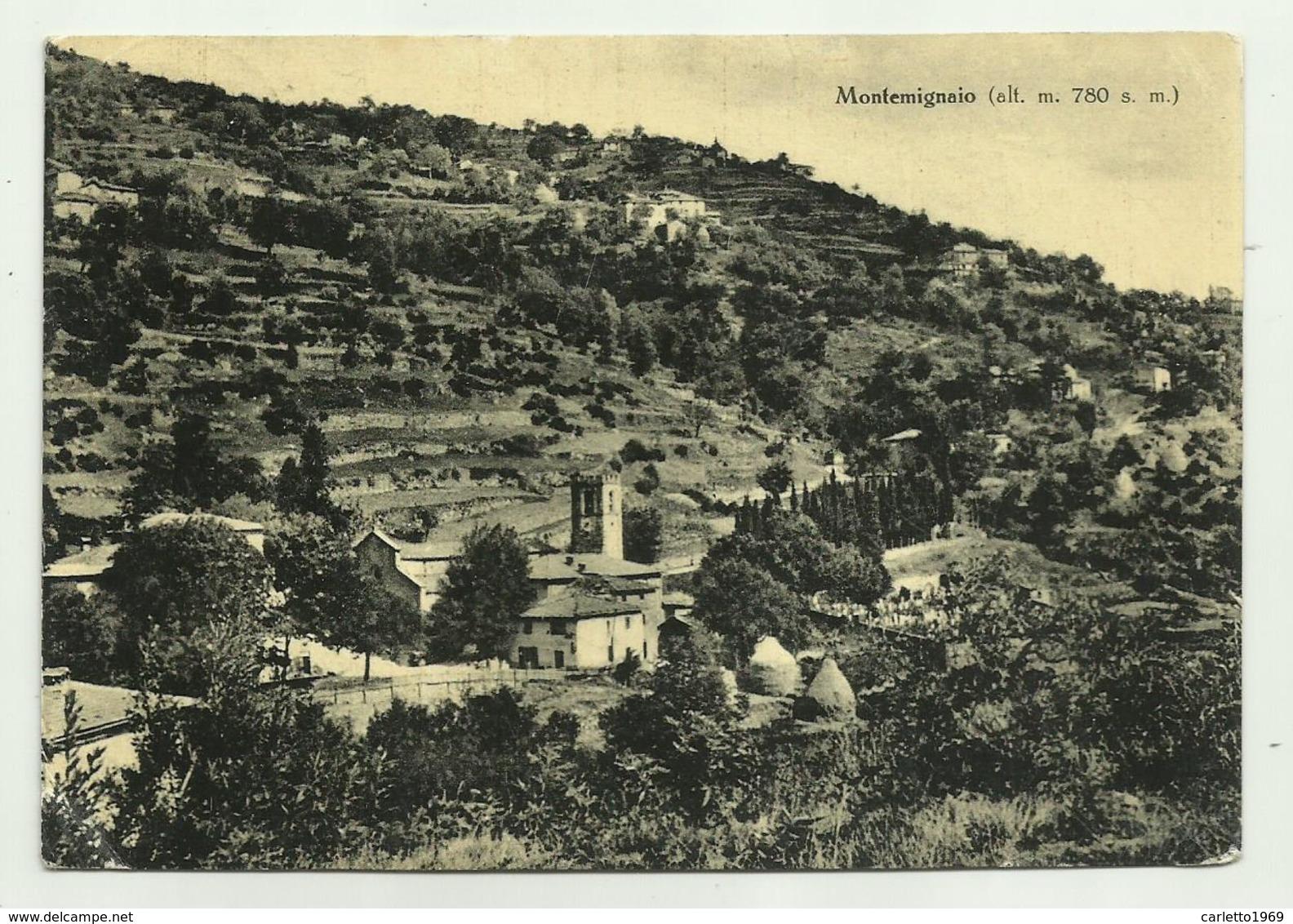 MONTEMIGNAIO - VIAGGIATA FG - Arezzo