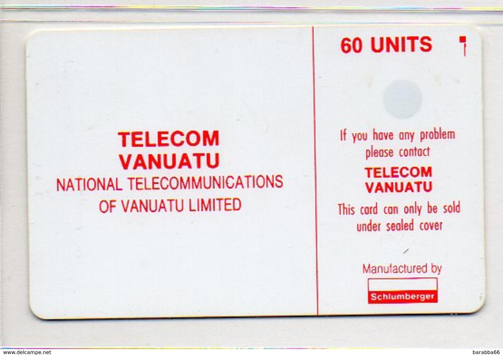 TVL PHONE CARD - 60 UNITS - Vanuatu