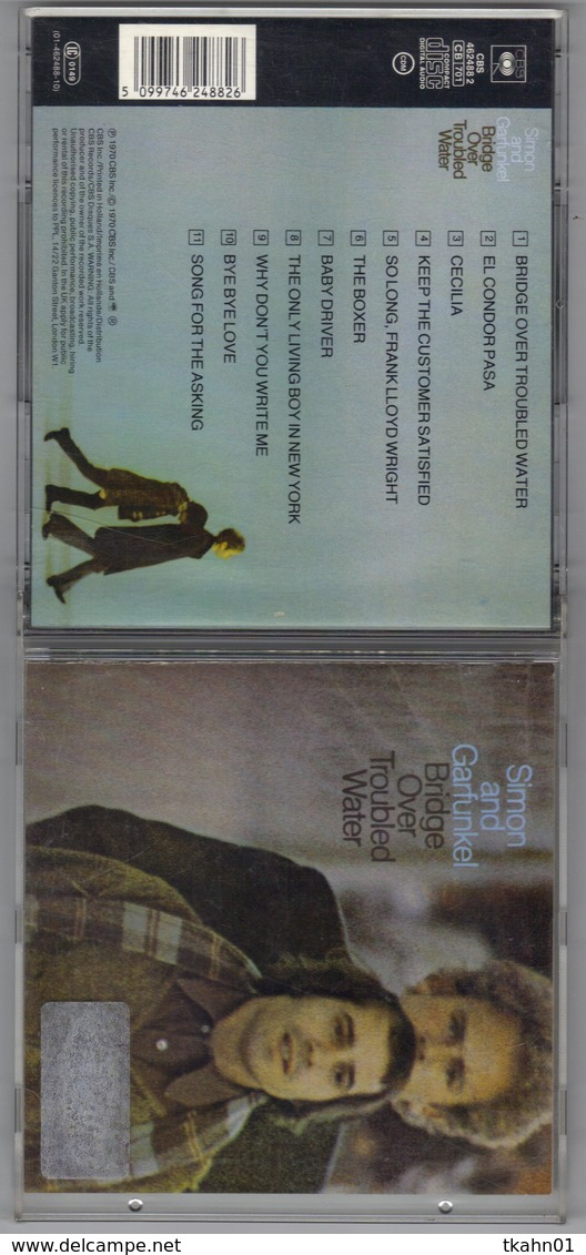 "ALBUM C-D "" SIMON AND  GARFUNKEL "" BRIDGE OVER TROUBLED WATER - New Age"