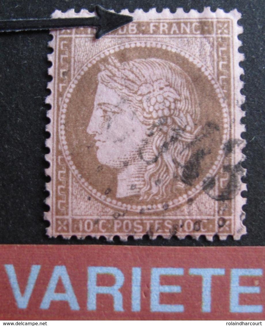 DF50478/313 - CERES N°58 - VARIETE ➤ Filet Nord Brisé - 1871-1875 Ceres