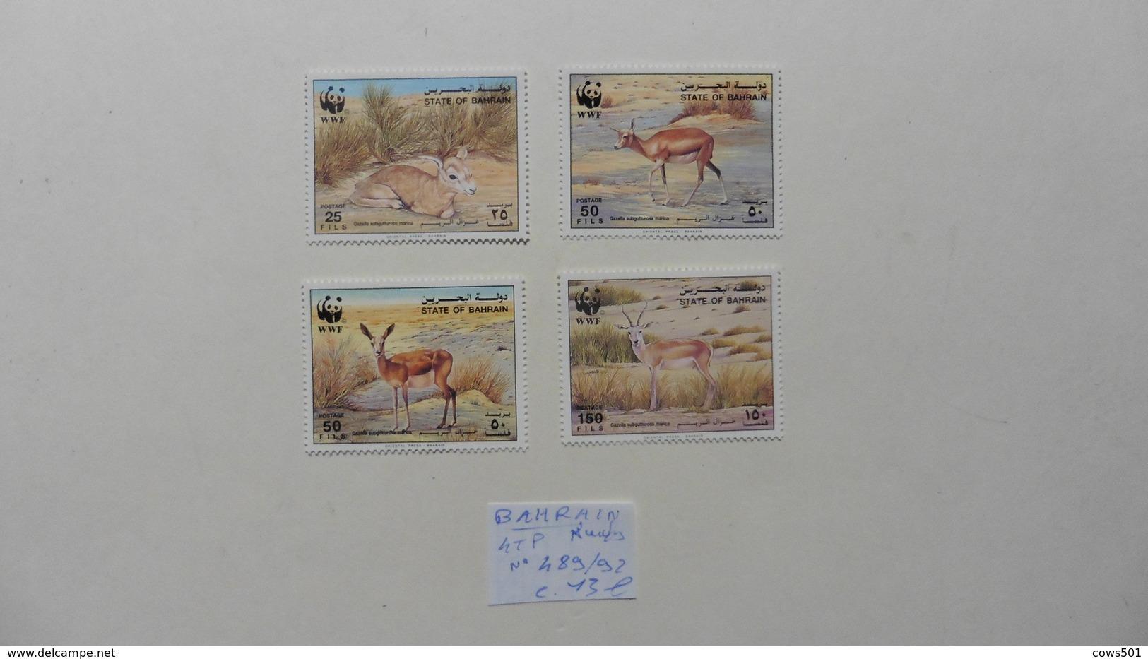 Asie > Bahreïn : 4 Timbres Neufs N° 489/92 - Bahreïn (1965-...)