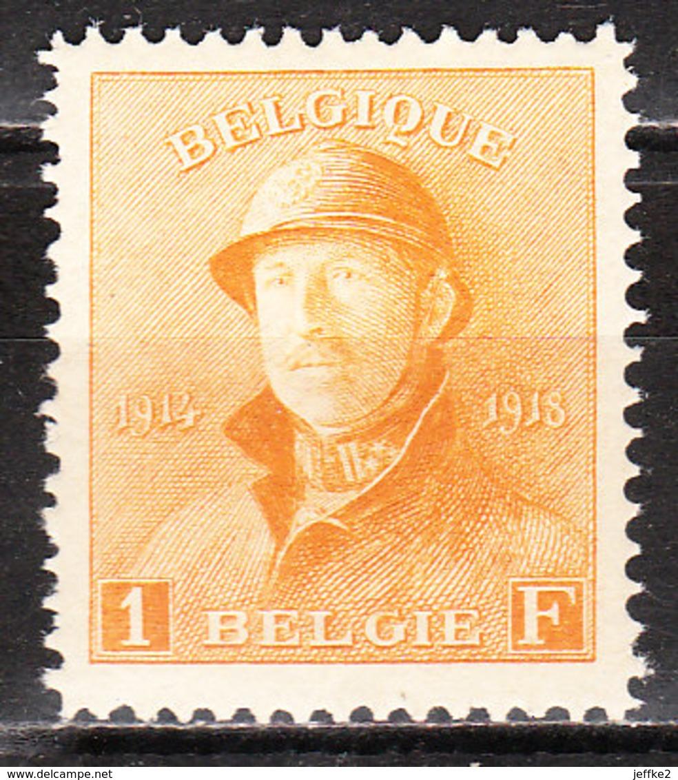 175**  Roi Albert Casqué - Bonne Valeur - MNH** - COB 120 - Vendu à 15% Du COB!!!! - 1919-1920 Roi Casqué