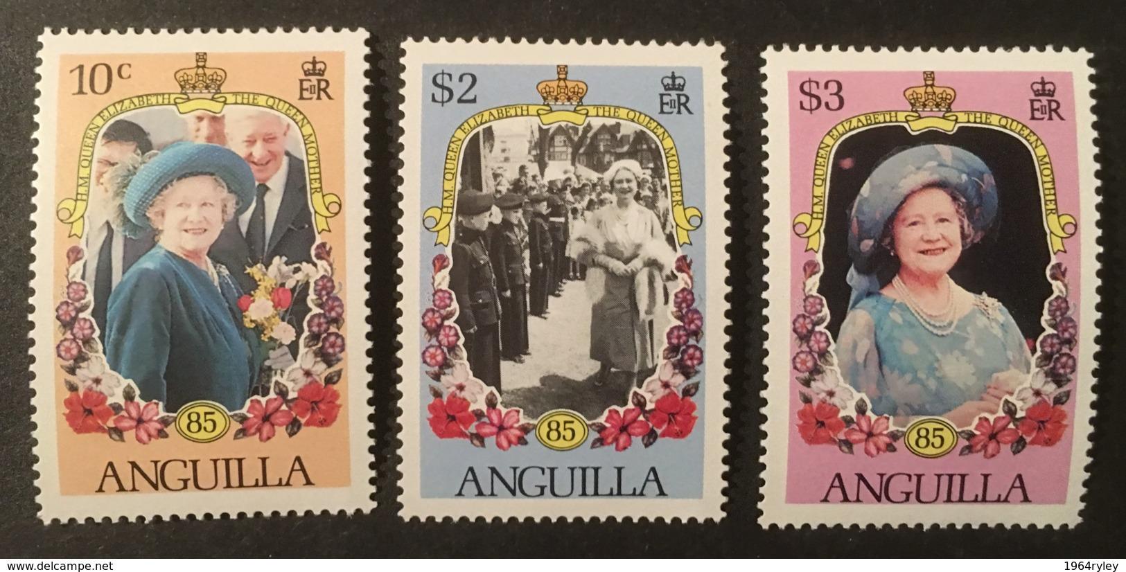 ANGUILLA - MNH** - 1985 - # 619/621 - Anguilla (1968-...)