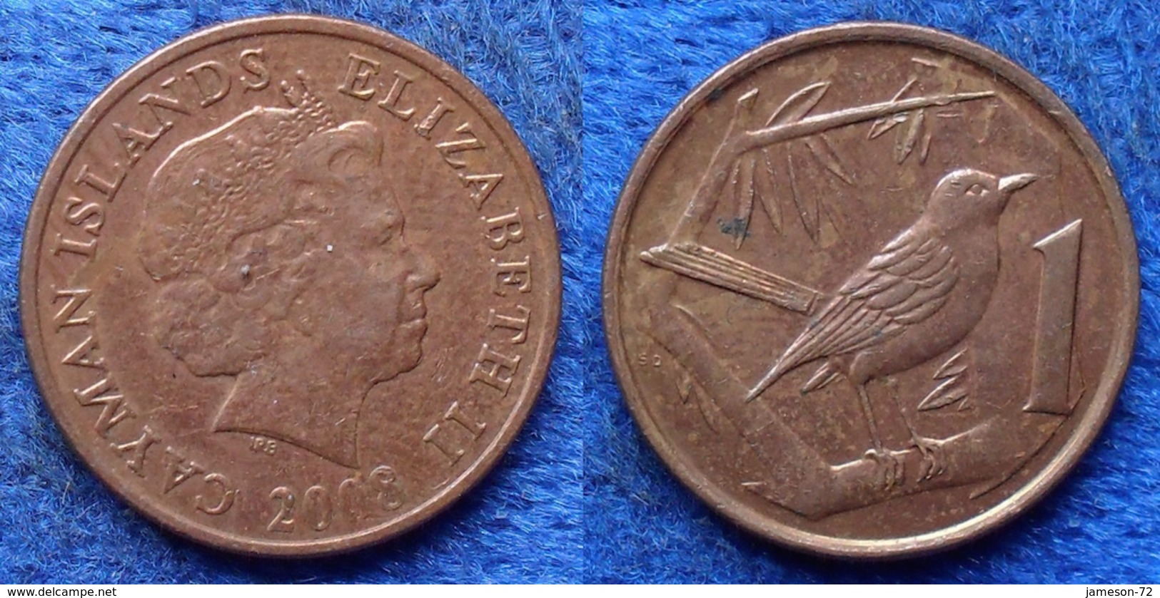 CAYMAN ISLANDS - 1 Cent 2008 KM# 131 British Colony - Edelweiss Coins - Cayman Islands