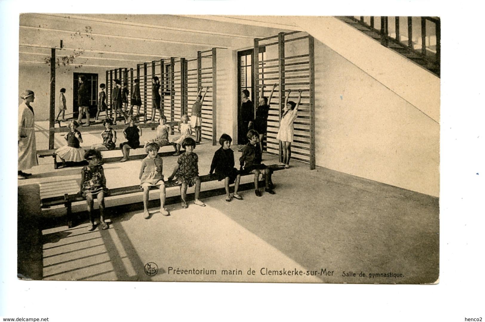 Préventorium Marin De Clemskerke Sur Mer - Salle De Gymnastique (1928) - De Haan