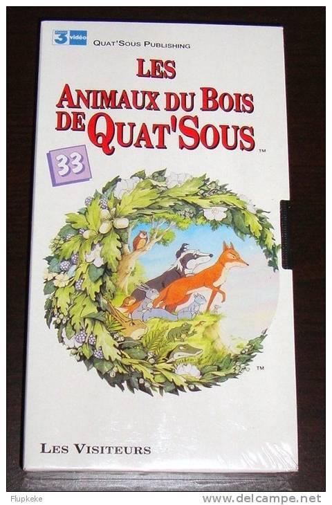 Vhs Pal Les Animaux Du Bois De Quat'Sous 33 Les Visiteurs Version Française - Enfants & Famille