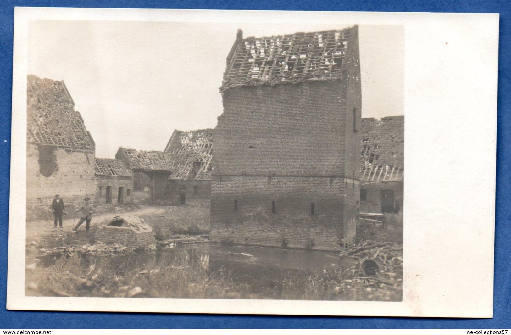 Carte Photo  -  Identifiée Comme Bourghelles - France