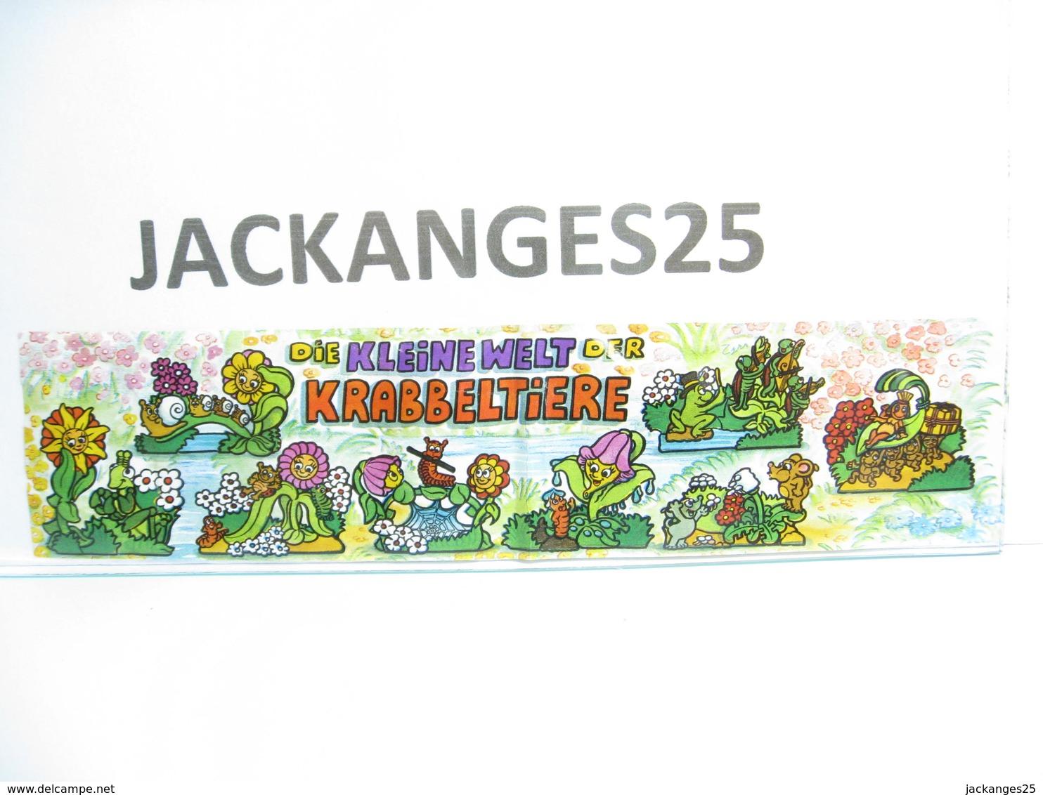 KINDER ALLEMAND 652512 PUZZLE 1999  + BPZ - Puzzles