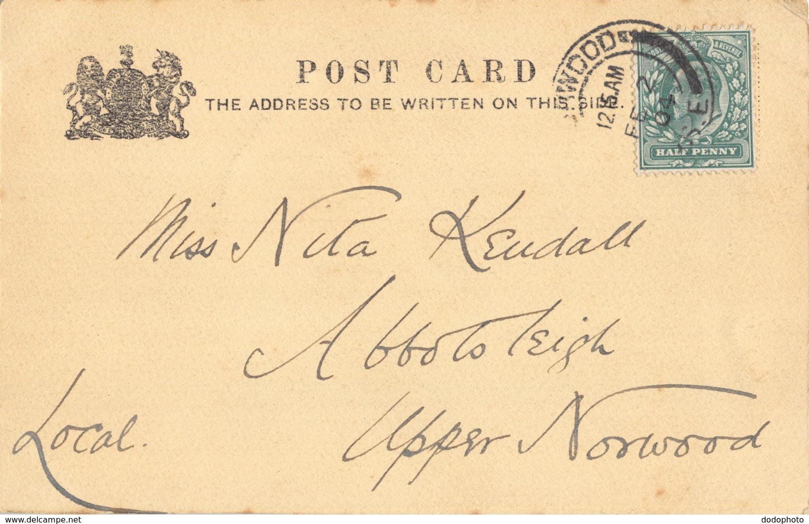 R188241 Crossing The Ford. W. Mulready R.A. Tuck. 1904 - Postkaarten