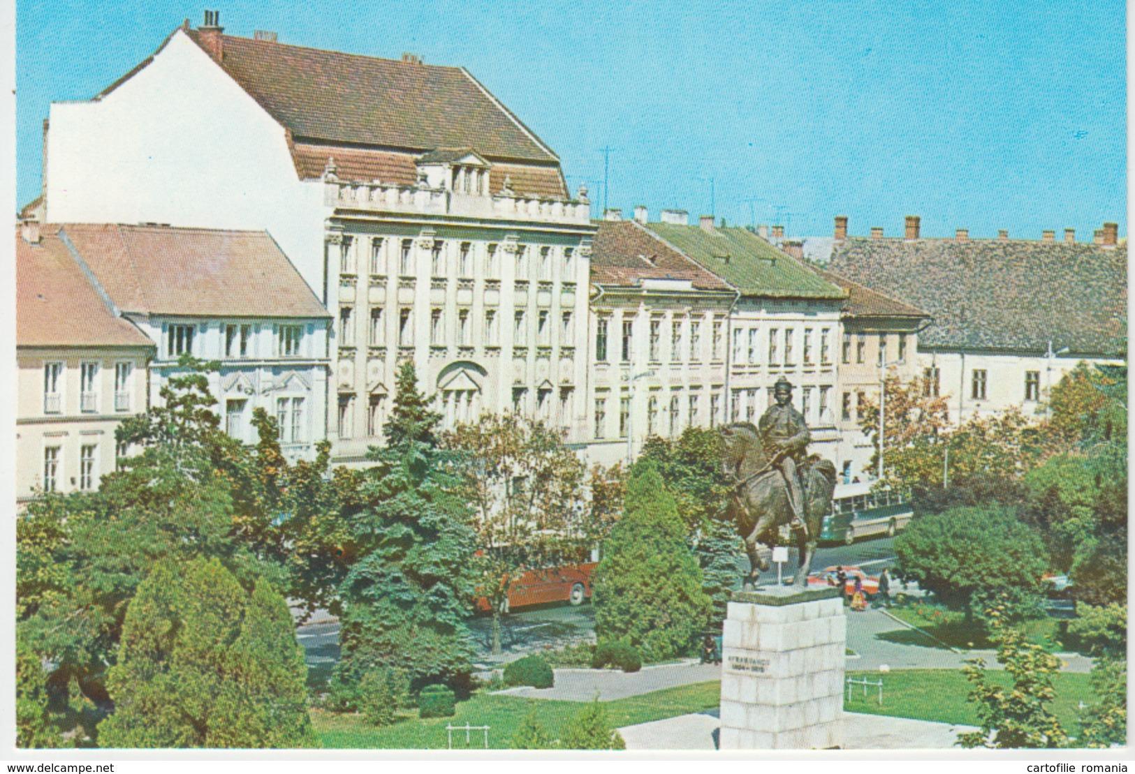Targu Mures Marosvasarhely Monument Statue Unused - Monuments