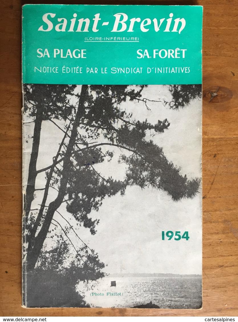 (Loire Atlantique) Saint Brévin. Photos, Nombreuses Publicités Locales. Saint Brévin, 1954. - Pays De Loire