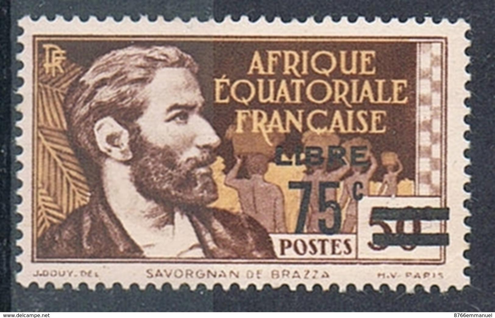 A.E.F. N°139 N* FRANCE LIBRE - A.E.F. (1936-1958)