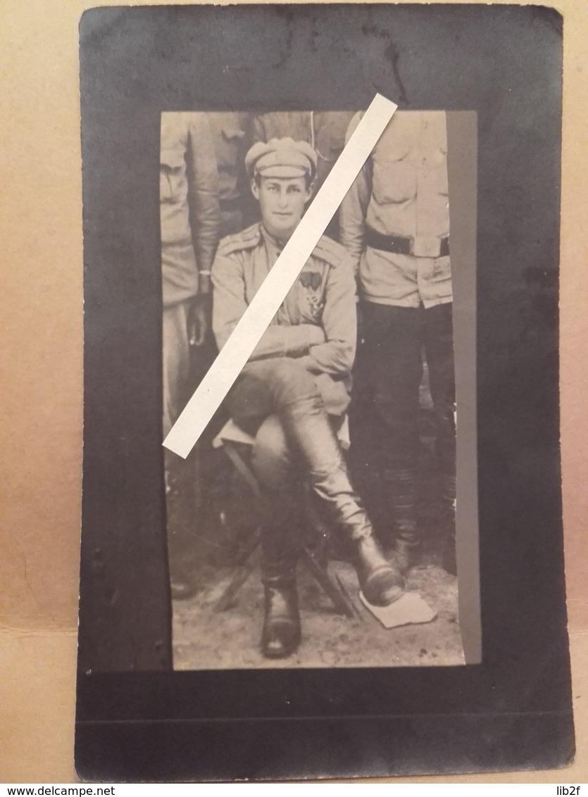 1914 1917  Russe Russie Russia Officier Tsariste Tsar Médaillé Tranchées Poilus 1914 1918 14-18 - War, Military
