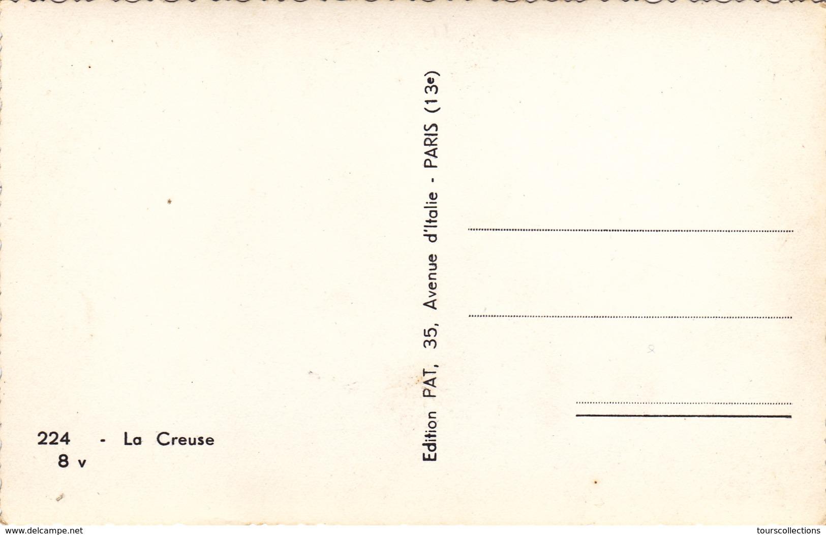 CPSM 23 @ CREUSE - Paire De Boeufs Accouplés - 2 Vaches Du Coin - Non Classés