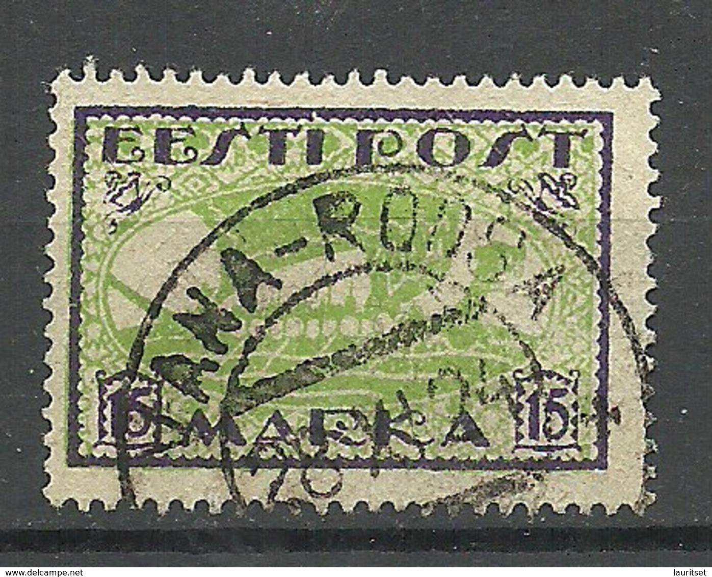ESTLAND Estonia 1922 O VANA-ROOSA Michel 23 A - Estland