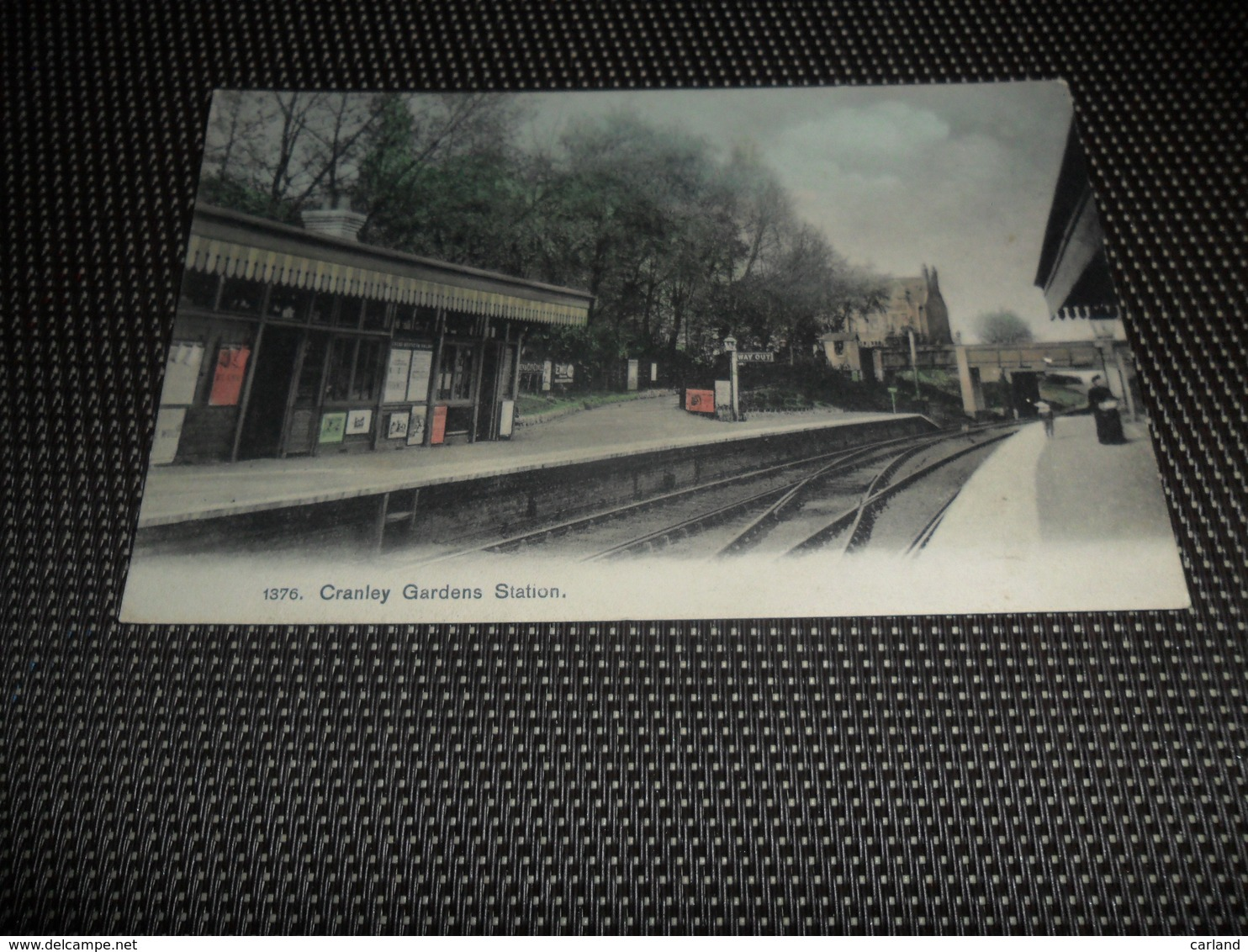 Engeland ( 8 )  England  United Kingdom  Verenigd - Koninkrijk  :  Cranley Gardens Station - Angleterre