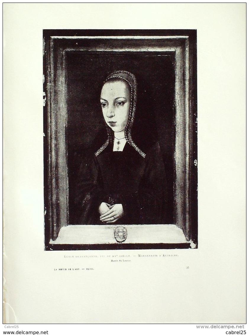 MARGUERITE D'AUTRICHE Portrait-601-1909 - Prints & Engravings