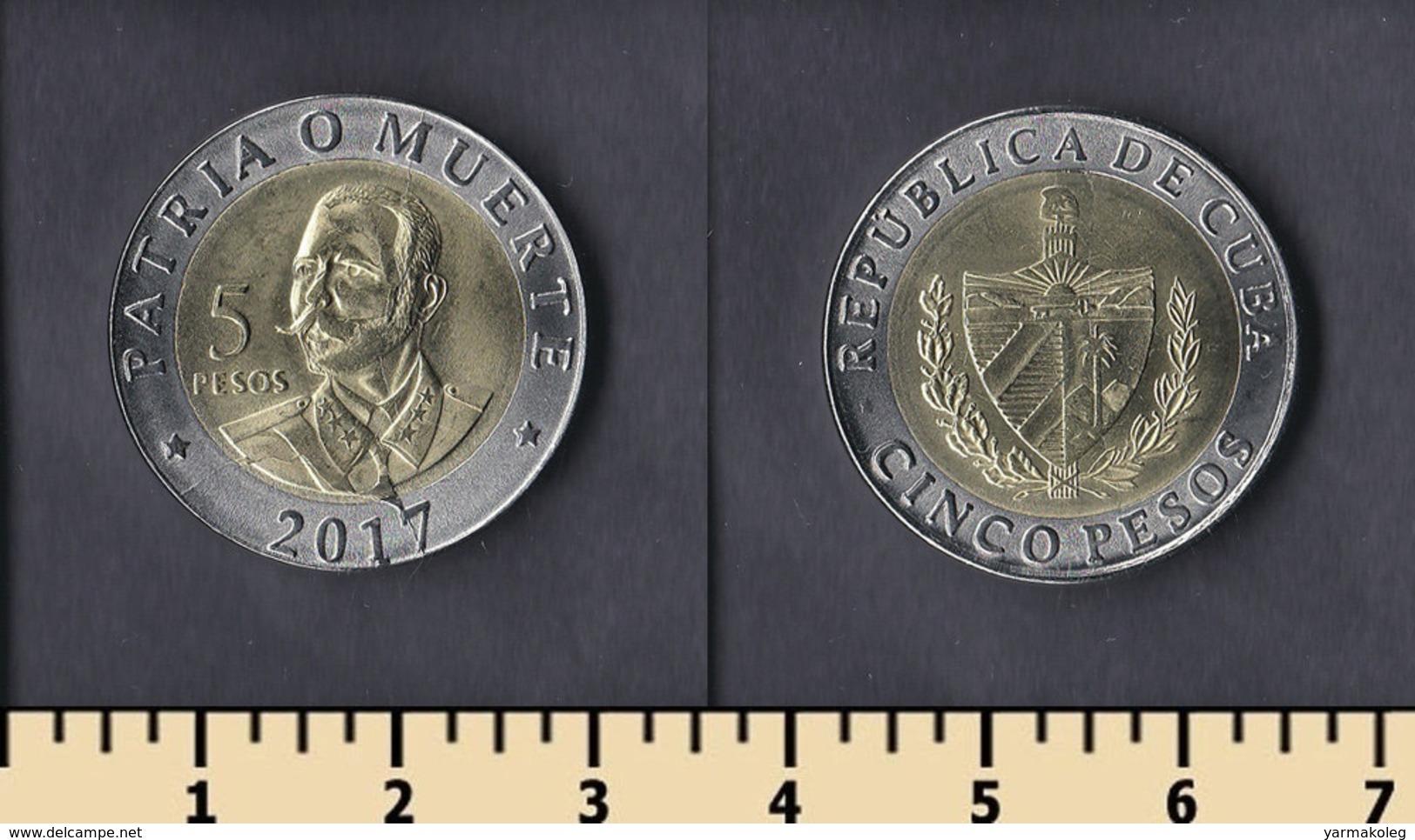 Cuba 5 Pesos 2017 - Cuba
