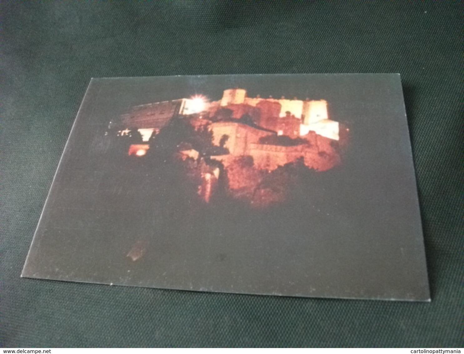CASTELLO CASTLE CHATEAU SCHLOSS  FORTE SPERONE 1992 MANIFESTAZIONE LUCI SUI FORTI  GENOVA - Castelli