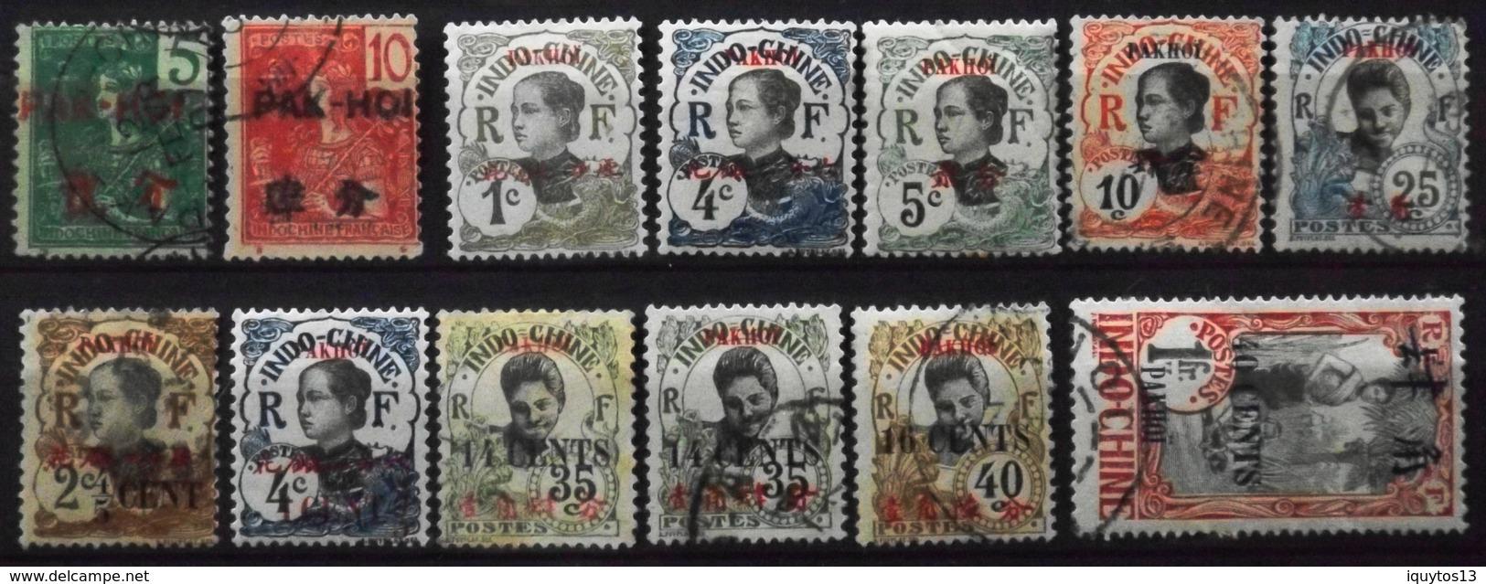 France (ex-colonies & Protectorats) > Pakhoï 1906-19 Collection De Timbres Neufs*/O - Pakhoï (1903-1922)