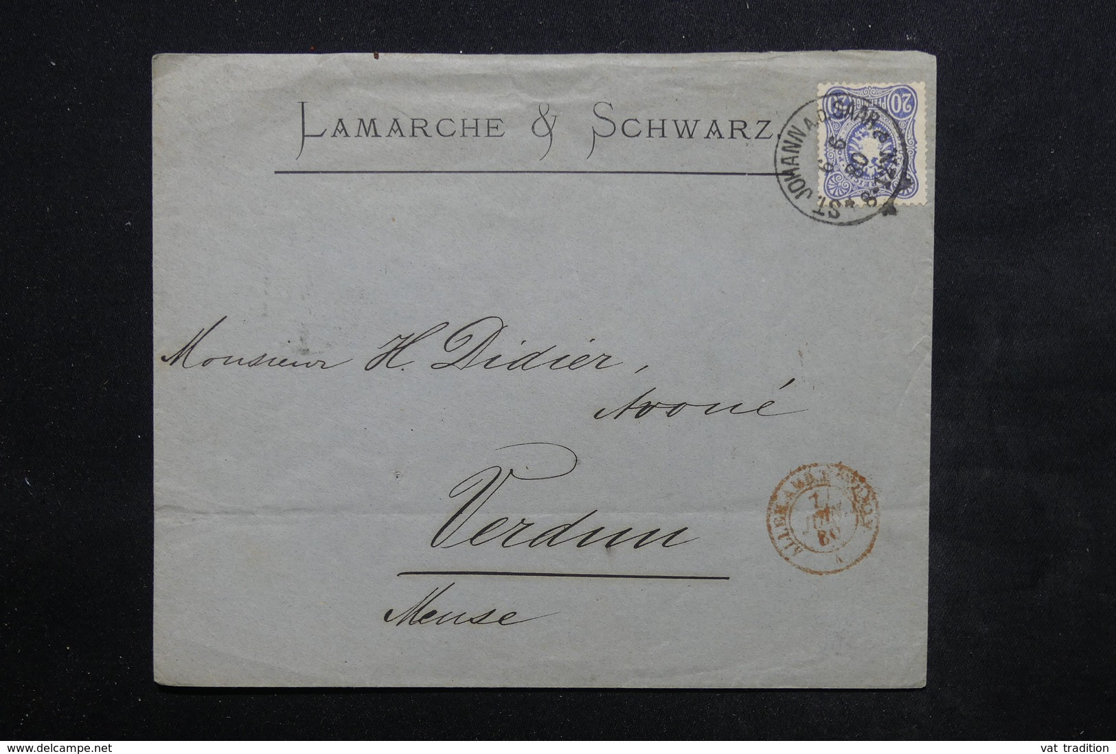 ALLEMAGNE - Enveloppe Commerciale De Saint Johann Ad Saar Pour La France En 1880 - L 23910 - Germany
