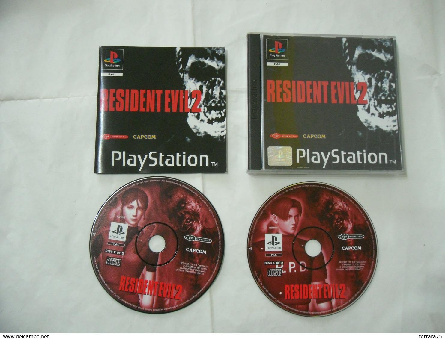 PLAYSTATION 1 PSP1 RESIDENT EVIL 2 ITA - Sony PlayStation