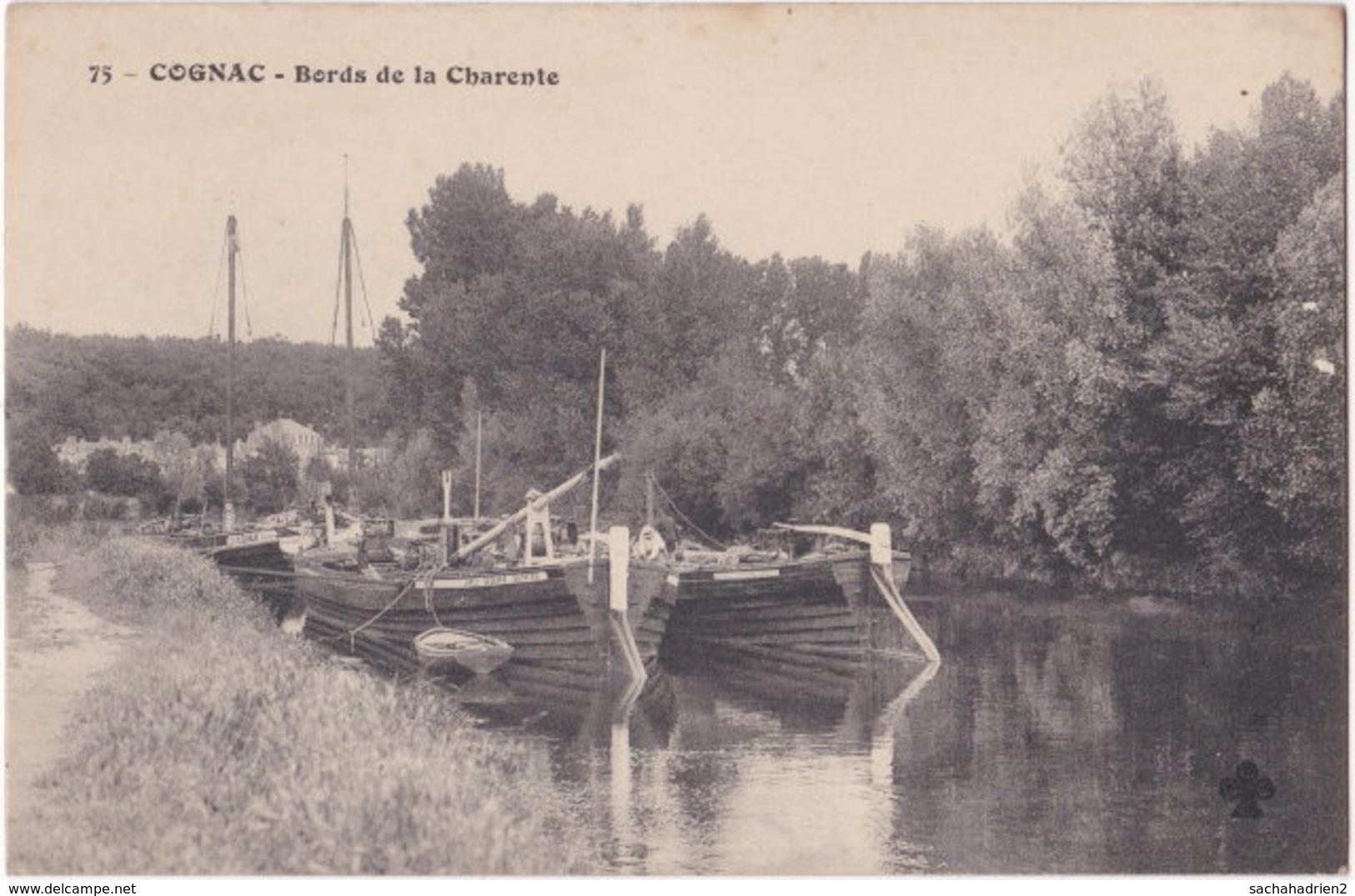 16. COGNAC. Bords De La Charente. 75 - Cognac