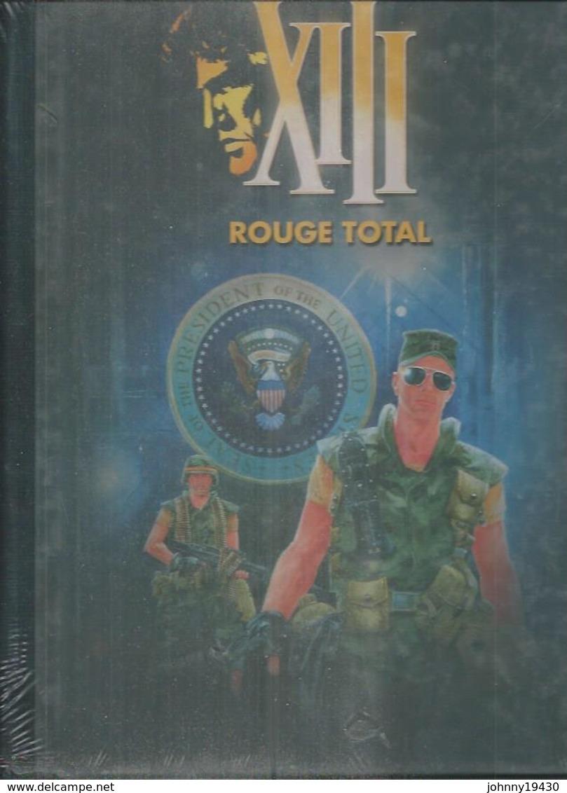"""XIII - 5  """" ROUGE TOTAL """" ( VANCE / VAN HAMME ) Dos Toilé Noir édition Originale 2010 - XIII"""