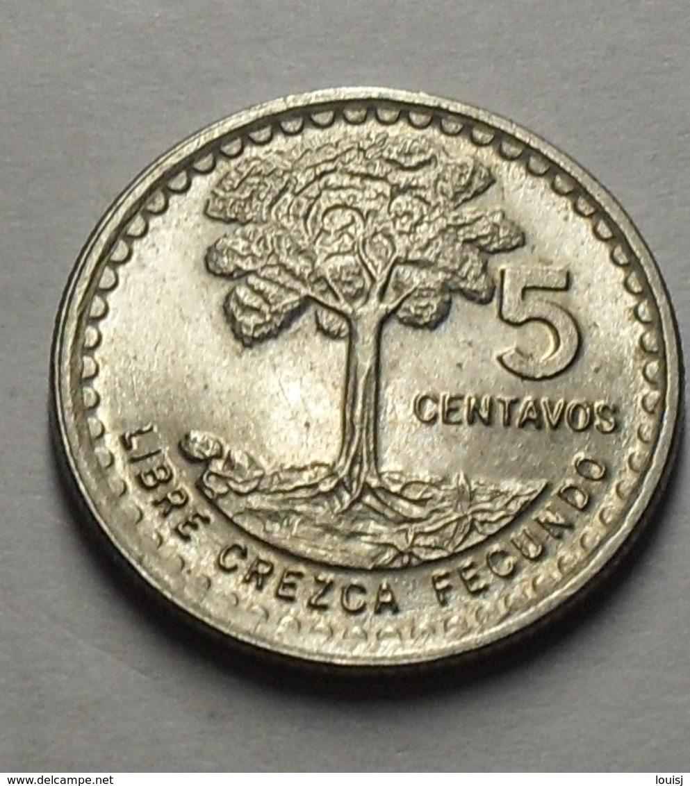 1971 - Guatemala - 5 CENTAVOS - KM 270 - Guatemala