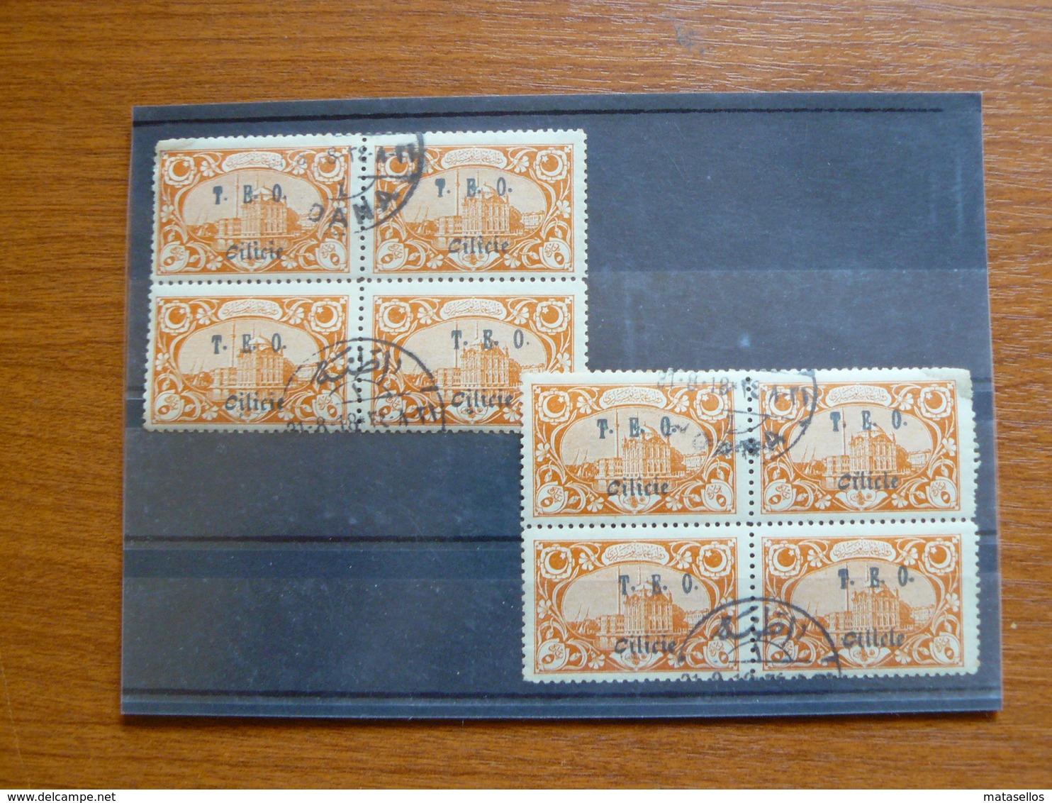 Estampillas Cilicia - Francia - Cilicie (1919-1921)