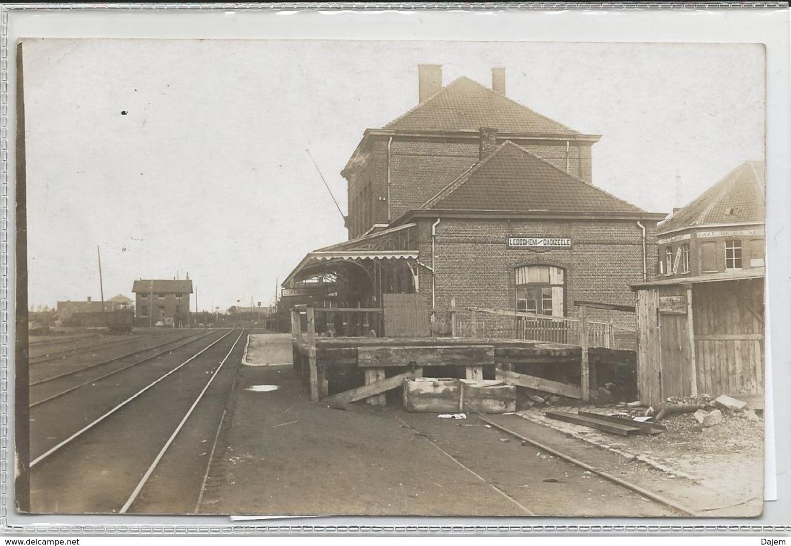 Carte Photo (14/18)  Gare De Ledegem-Dadizeele - Ledegem