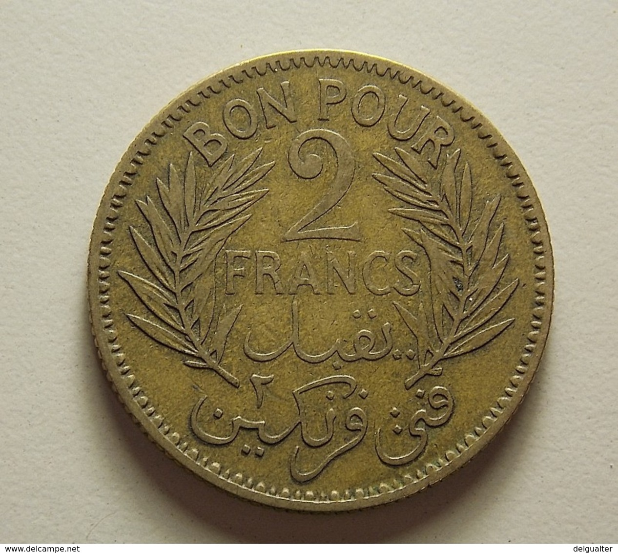 Tunisia 2 Francs 1941 - Tunesien