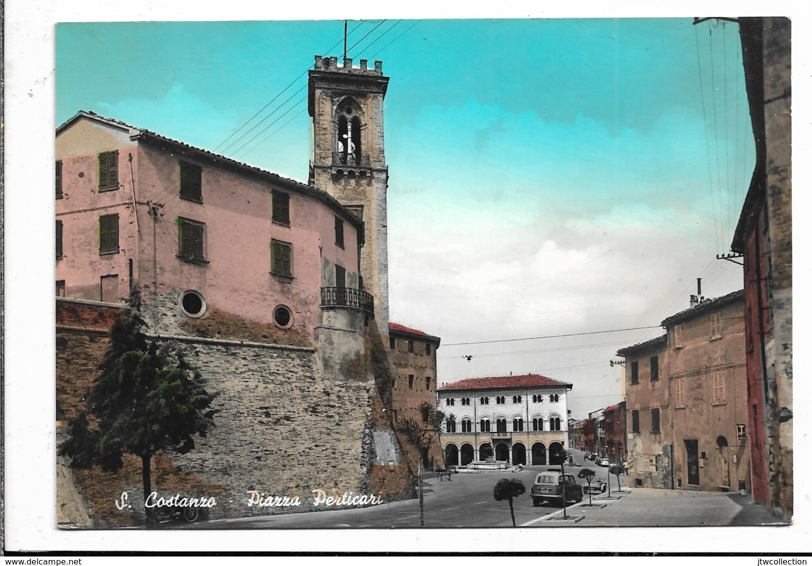 San Costanzo (PU) - Viaggiata - Italie