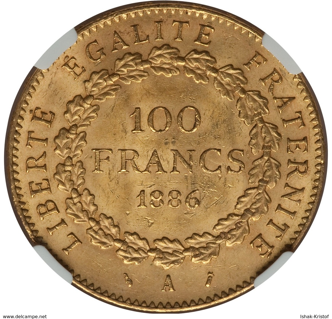 100 Francs Dupre 1886 A Gold - Gold